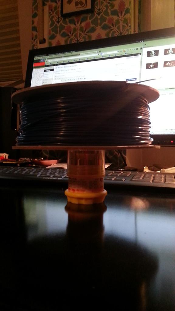Horizontaler Filament-Spulen-Halter